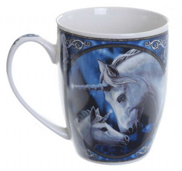 LISA PARKER Sacred Love Unicorn Mug